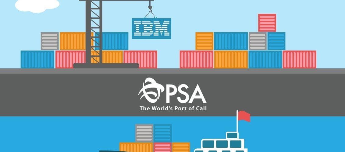 PSA International Announces IBM Partnership For Singapore Port Blockchain Trial