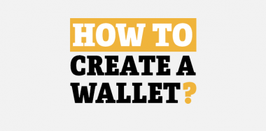 How to create a wallet
