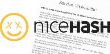 NiceHash freezes operations as $62 million worth of BTC is emptied from its wallet​