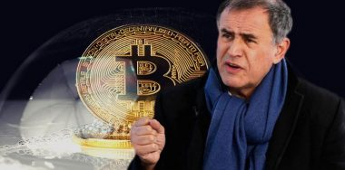 "Nouriel ""Dr. Doom"" Roubini says bitcoin price is in a bubble and ""will find its end"""