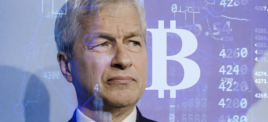 Why JPMorgan's CEO is scared of 'fraud' Bitcoin