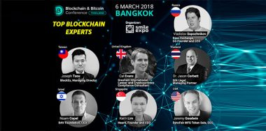 Cryptocurrency investments, blockchain trends and industry development vectors will be discussed at Blockchain & Bitcoin Conference Thailand