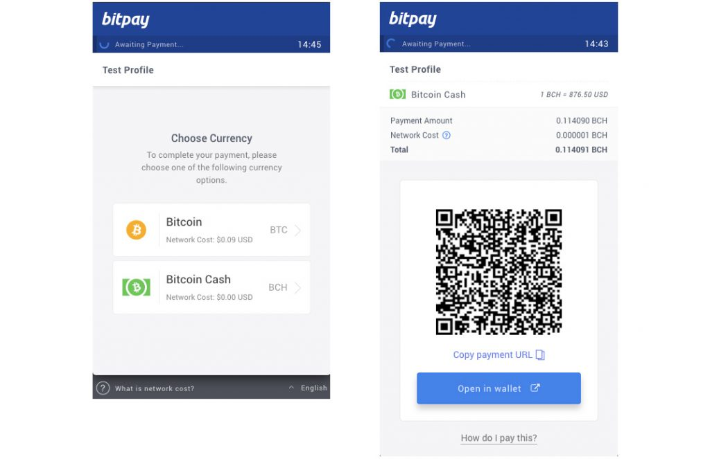 BitPay merchants can now receive Bitcoin BCH payments