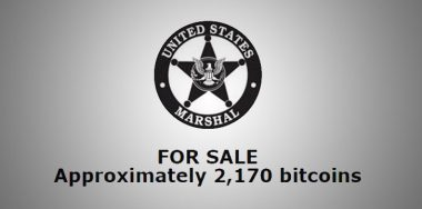 US Marshals to auction off 2,170 'dirty' BTC