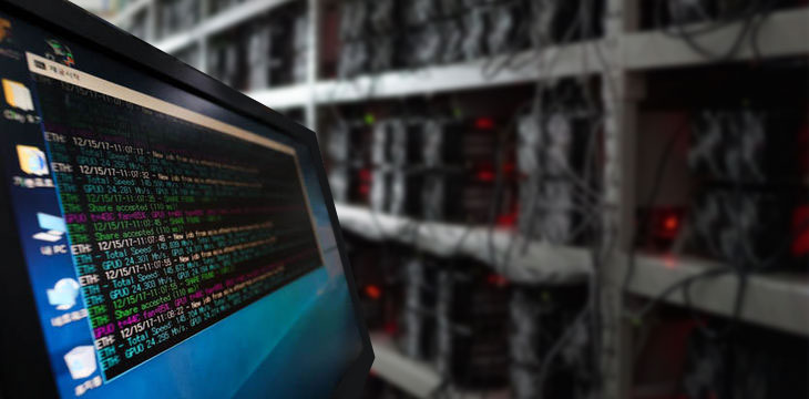 600 computers seized in China's crypto mining crackdown