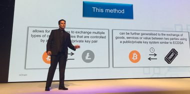 Dr. Craig Wright discusses breaking inter-blockchain barriers at CoinGeek Conference