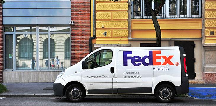 FedEx turns to blockchain for cargo shipment tracking
