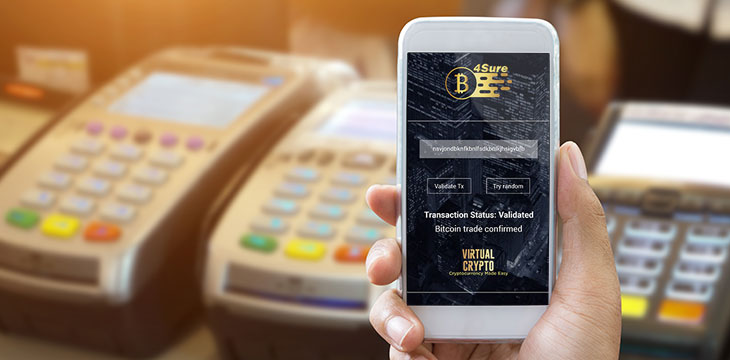 Virtual Crypto Technologies launches Bit4Sure, a proprietary cryptocurrency transaction confirmation API