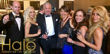 Calvin Ayre honored at Halo Foundation's Wings of Charity event