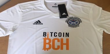 First Ayr United Bitcoin Cash jersey won, win yours now