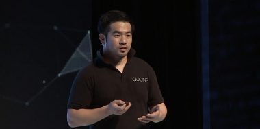Katsuya Konno presents Quoine at the CoinGeek Conference