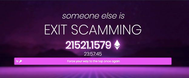 'Exit scamming' gaming literally feeds on users' greed to bulk up pot money