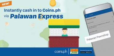 Coins.ph teams with Palawan Pawnshop to extend its nationwide cash-in network