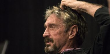John McAfee's 'unhackable' Bitfi wallet gets hacked—again
