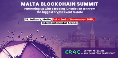 Malta to host the most important crypto conference of 2018