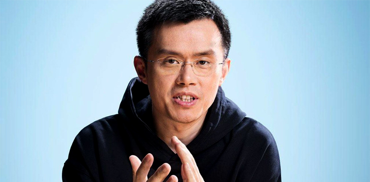 No 400 BTC charges for new currency listings at Binance, CEO says