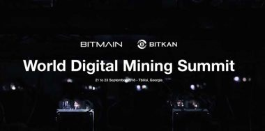 Bitmain launches World Digital Mining Summit in Tbilisi, Georgia