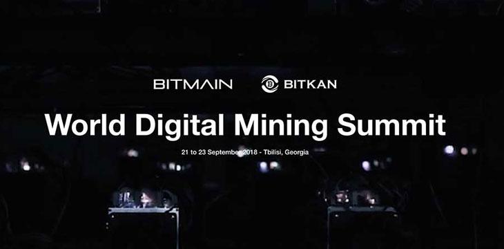 Bitmain launches World Digital Mining Summit in Tbilisi, Georgia