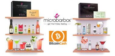 Gin & cocktail gift box delivery service MicroBarBox.com now accepts Bitcoin Cash