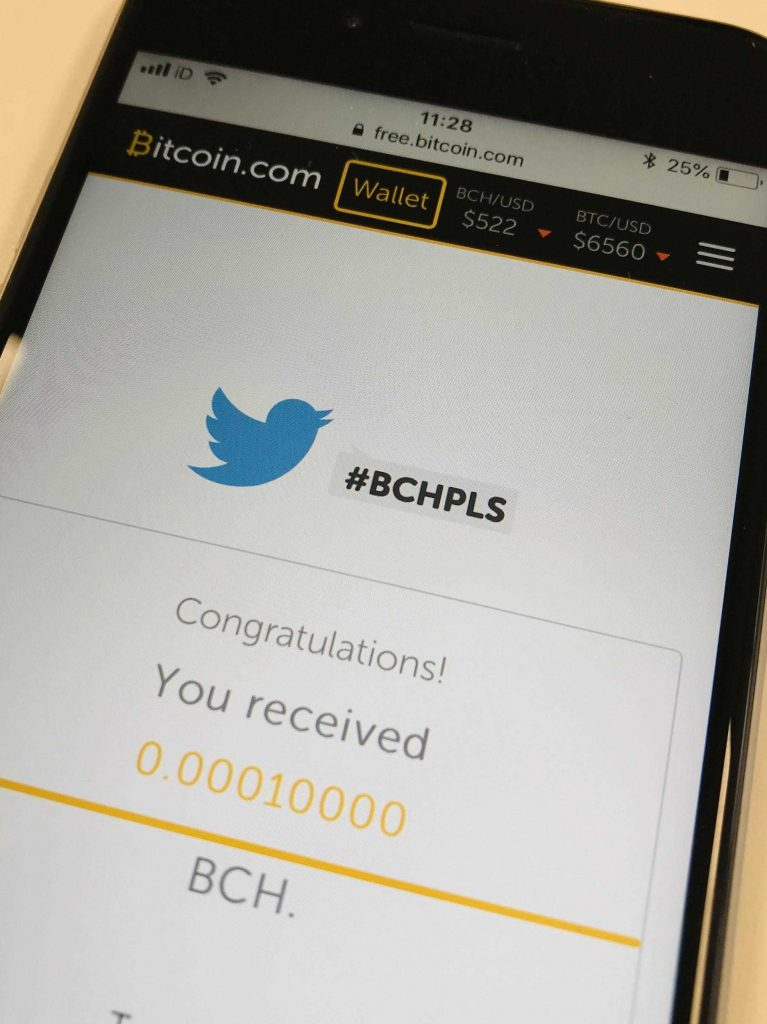 Pure profit and no risk: my first BCH transaction