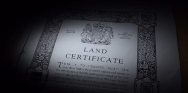 UK land registry plans blockchain integration