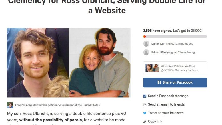 Silk Road, Ross Ulbricht, half a decade and 100,000 signatures later