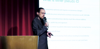Steve Shadders tackles the subject of double spends at CoinGeek Week Miners Day