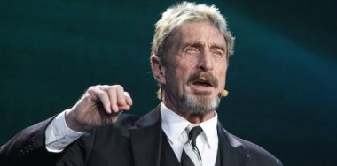 McAfee eyes US presidency on a platform of cryptocurrency