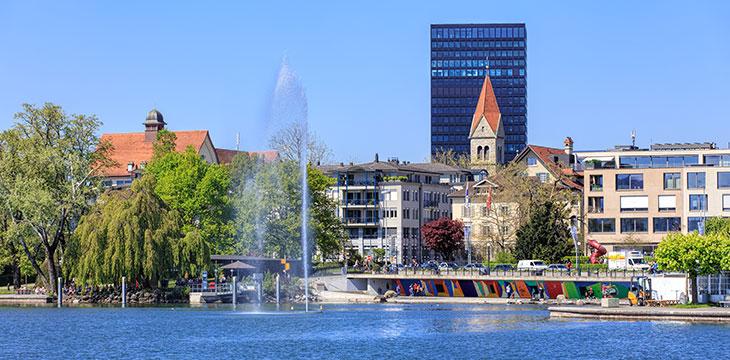Zug, Switzerland is the fastest-growing tech destination in Europe
