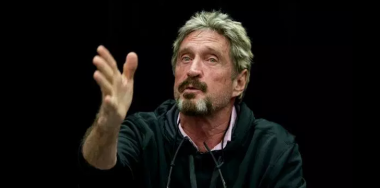 McAfee to run 2020 bid from international waters after IRS 'exile'