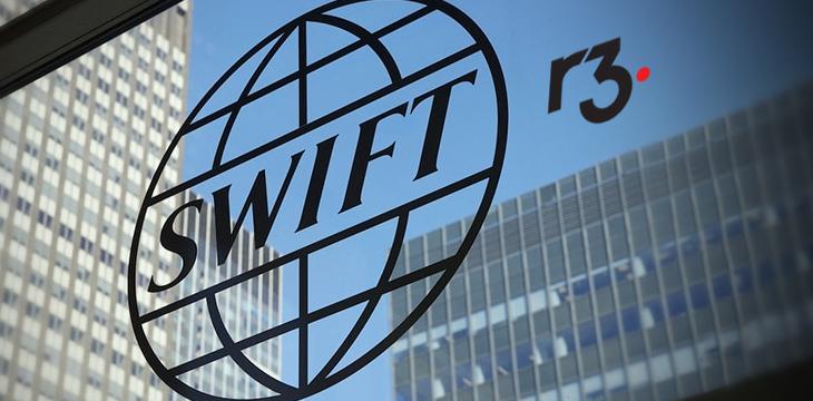 R3's Corda platform gains favor with SWIFT