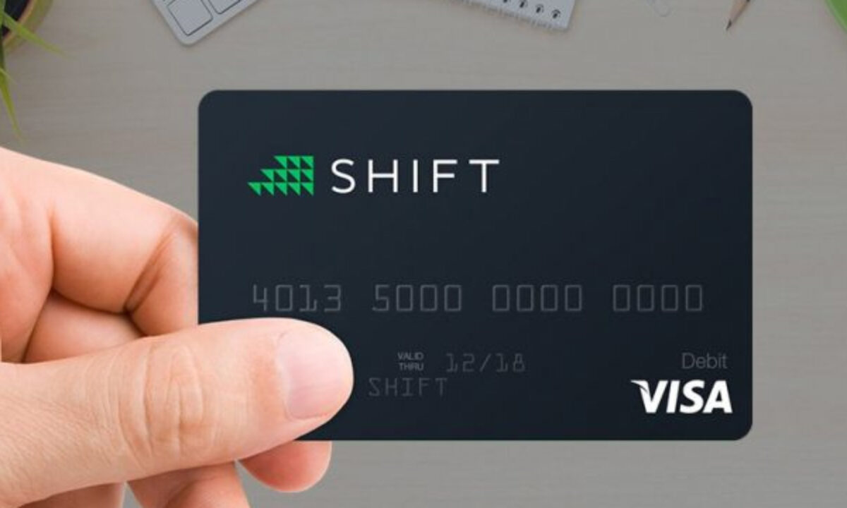 shift bitcoin card)