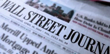 Blockchain analyst CipherBlade criticizes WSJ journalism, or lack thereof