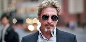 'Irresponsible tweets' land John McAfee in hot water with Skycoin