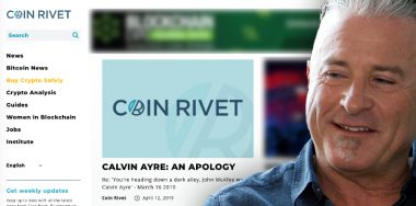 Calvin Ayre vindicated, Coin Rivet apologizes for libelous attack