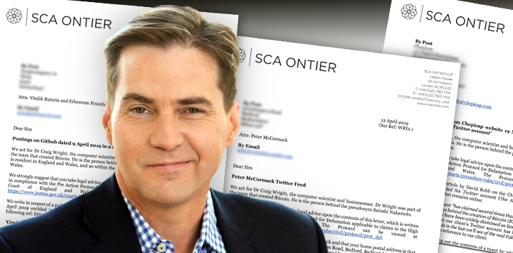 Dr. Craig Wright ratcheting up legal fight with crypto critics