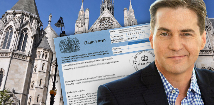 Dr. Craig Wright files formal libel claim against Bitcoin podcaster Peter McCormack