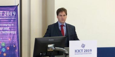 Dr. Craig Wright discusses personal device security on blockchain