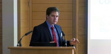 Dr. Craig Wright speaks at Oxford on smart contracts and written agreements