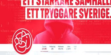 Hacked Sweden ruling party's Twitter touts fake crypto news