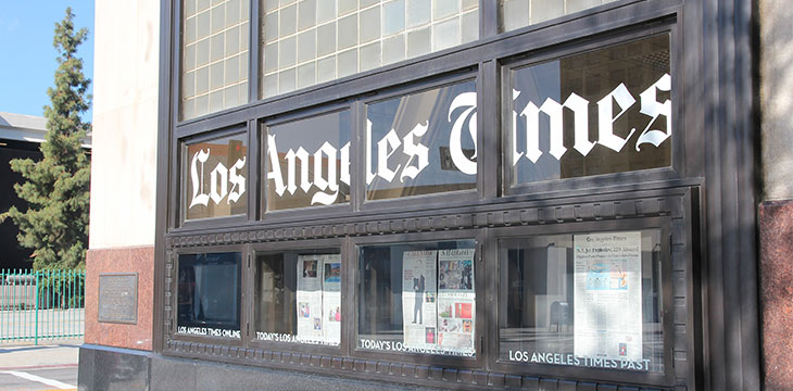 LA Times gets on board the cryptocurrency train