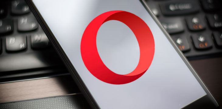 Opera releases new web browser with built-in crypto wallet