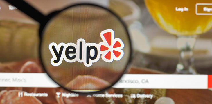 Yelp adds 'accepts cryptocurrency' option for merchant search