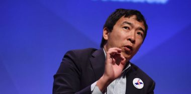 Democrat Andrew Yang believes blockchain 'big part' of US future