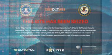 FBI seizes DeepDotWeb, believed to have made over 8,000 BTC