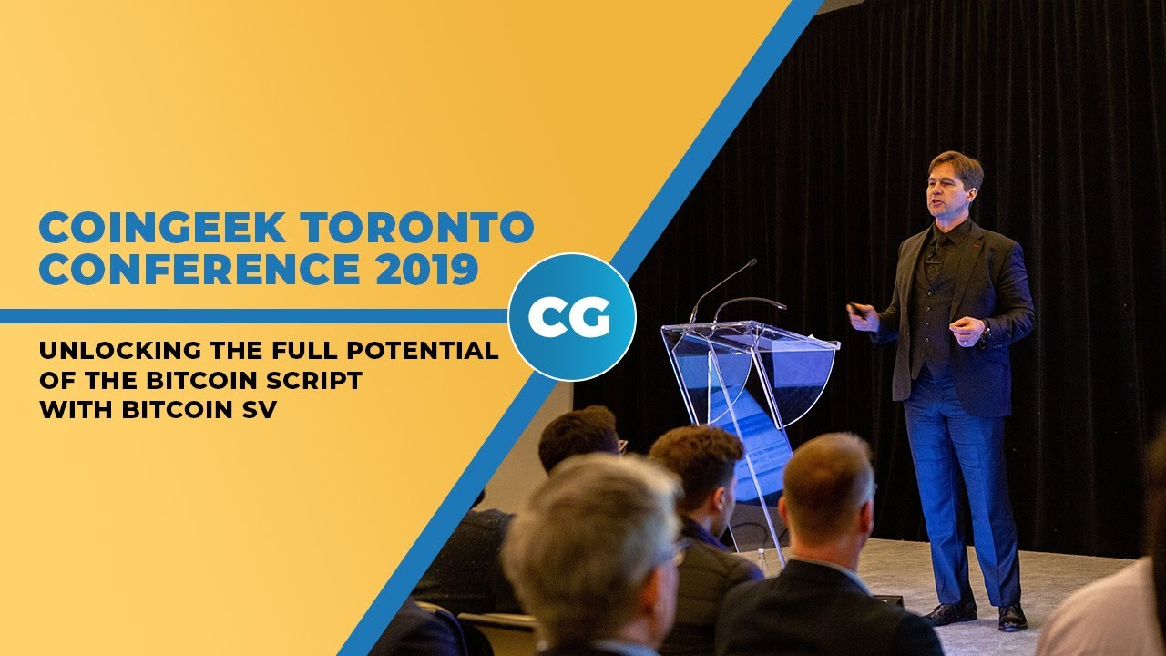 Dr  Craig Wright delves into mysteries of Bitcoin script at CoinGeek  Toronto 2019