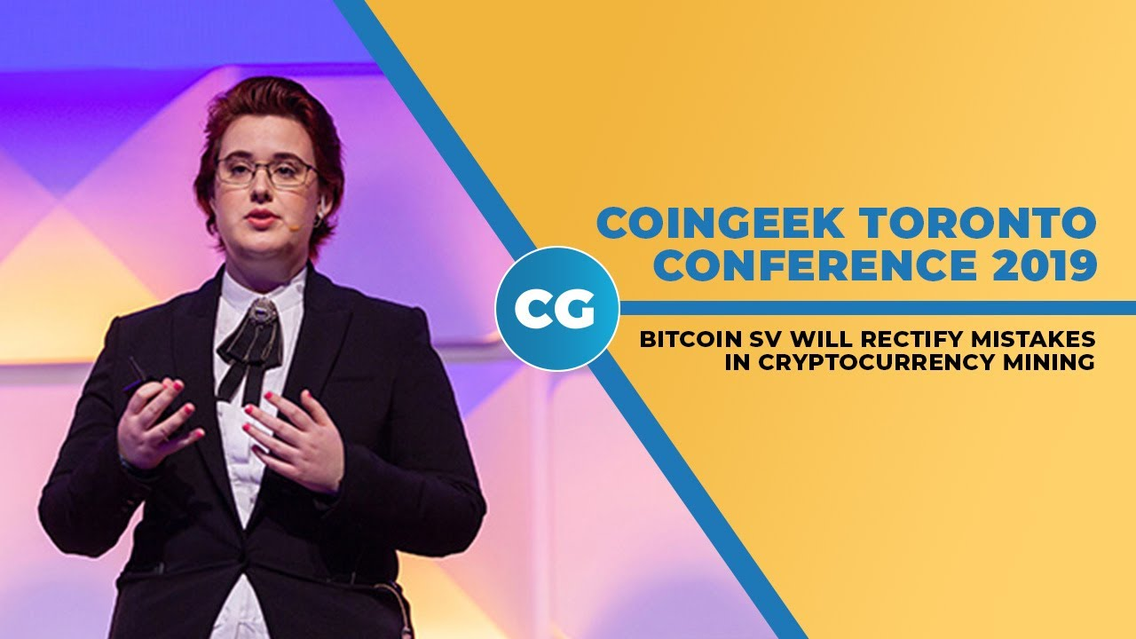 CoinGeek Toronto Conference 2019: Kristy-Leigh Minehan on BSV mining thumbnail