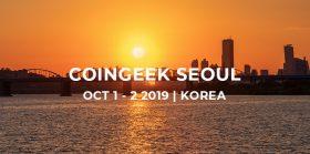 CoinGeek区块链盛会重返亚洲——10月1日至2日相约首尔
