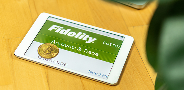 fidelity to trade cryptocurrency