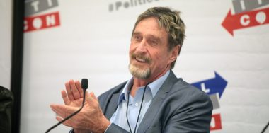 McAfee likely caught by authorities after running for months